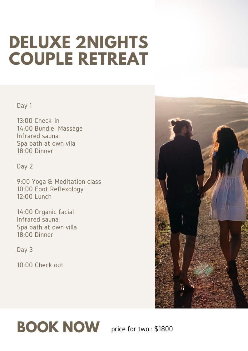 Getaway Couple Retreat